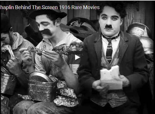 Charlie chaplin behind the screen 1916 Rare Movies