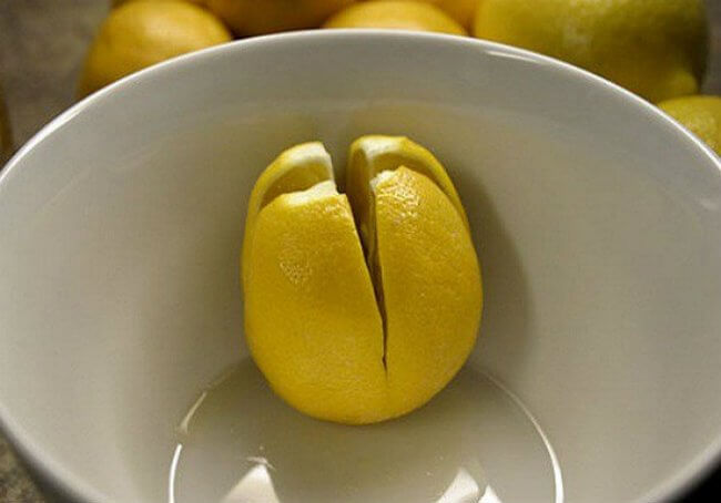 Use lemon juice as natural air freshener to kill bacteria of all types.