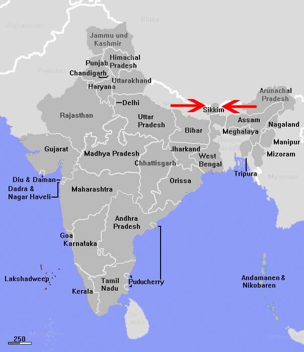 Sikkim, 8th century CE - 1975