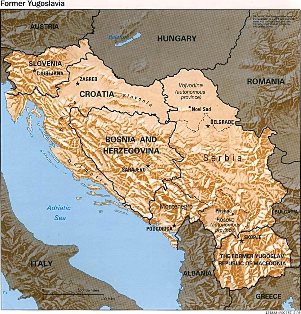 Yugoslavia, 1918-1992
