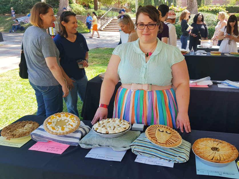 I am full on Pie