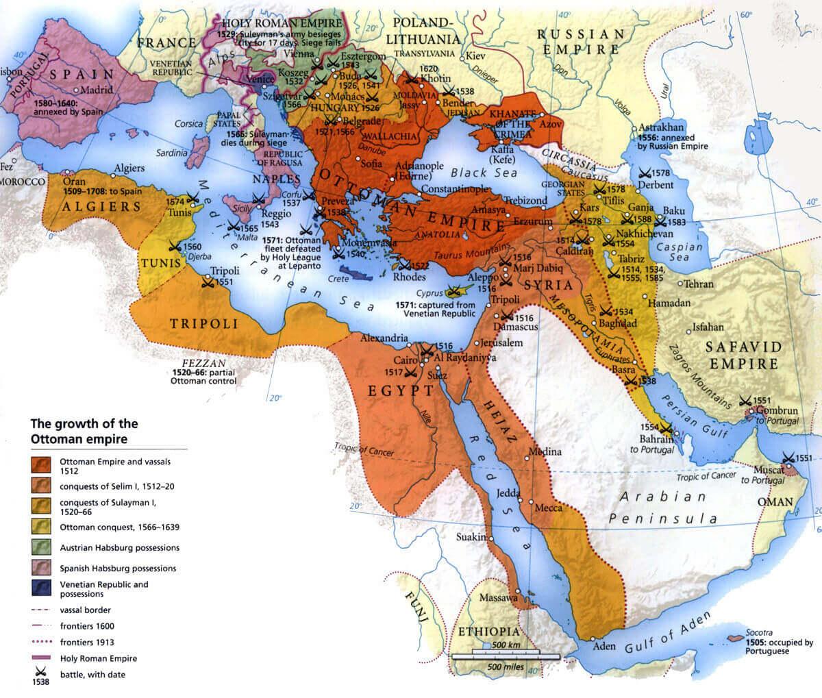 Ottoman Empire, 1299-1922