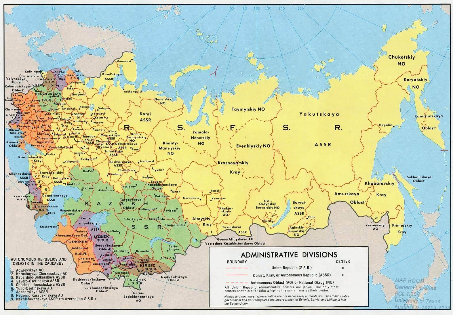 Union of Soviet Socialist Republic (Soviet Union), 1922-1991
