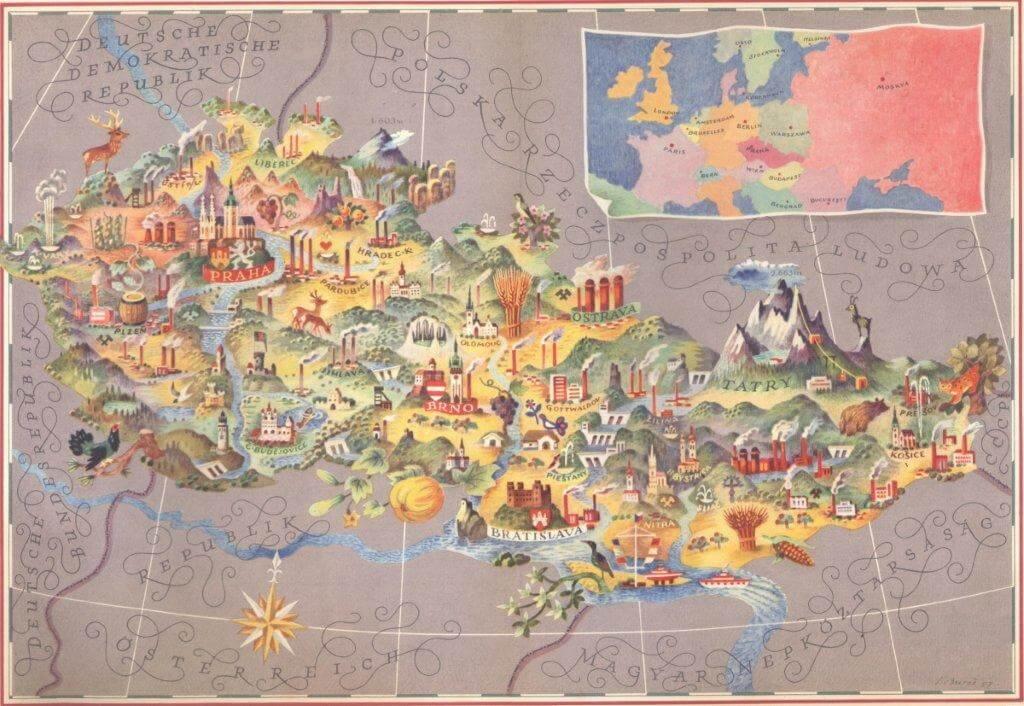 Czechoslovakia, 1918-1992
